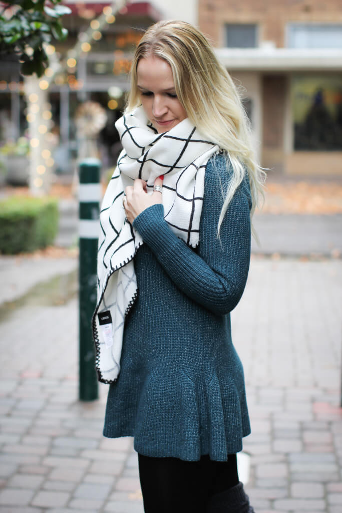 Asos Scarf And Sweater