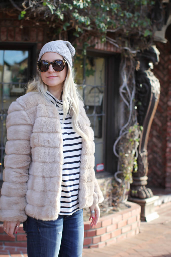 Purely Chic Cozy Faux Fur