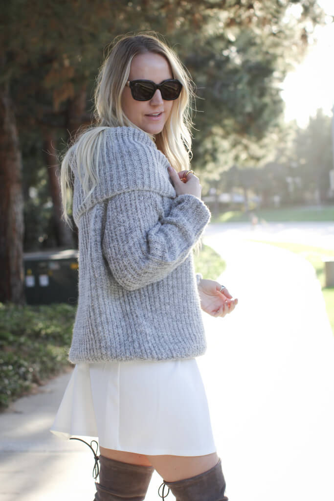 Off the shoulder sweater 1473