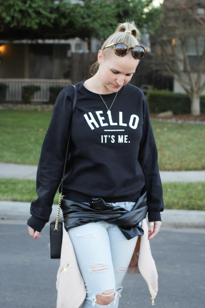 Purely Chic Adele Sweater 0955