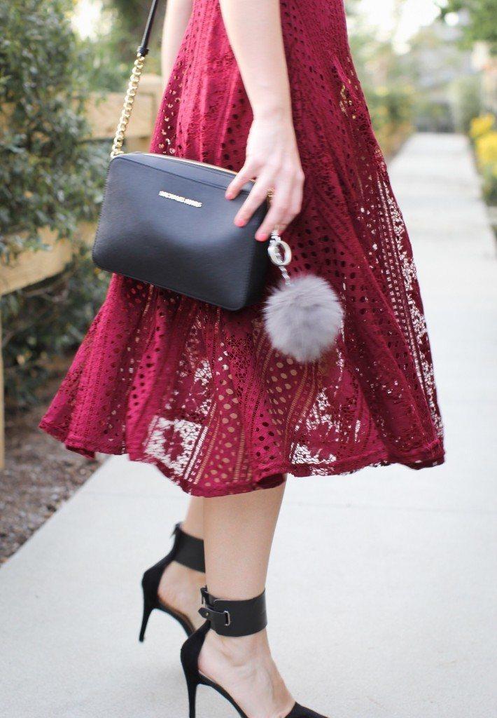Red Crochet Dress Forever 21