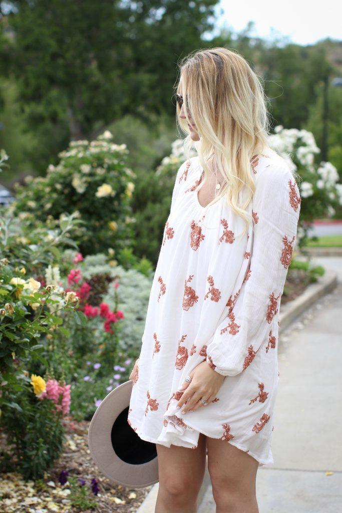 Floral-dress-casual