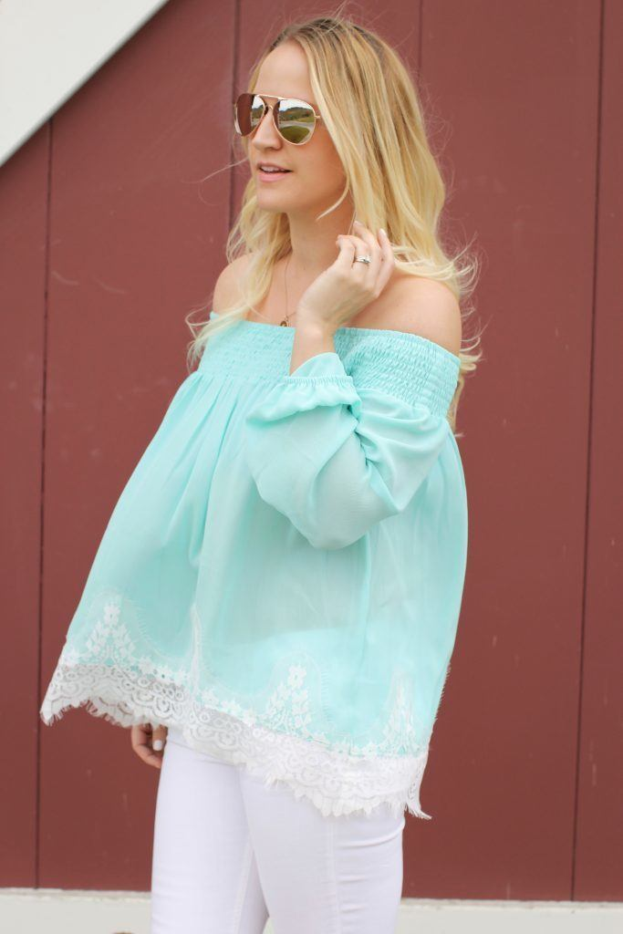 flowy-mint-top