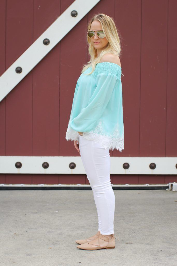 lace-top-white-jeans